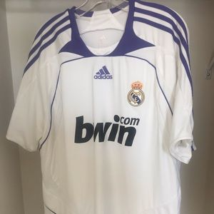 Real Madrid home jersey 2007/08 Men's Size XL